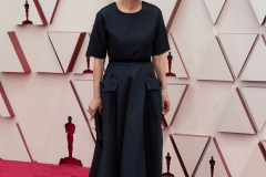 Oscar® nominee Yuh-Jung Youn arrives on the red carpet of The 93rd Oscars® at Union Station in Los Angeles, CA on Sunday, April 25, 2021.