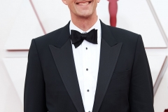 Oscar® nominee Pete Docter arrives on the red carpet of The 93rd Oscars® at Union Station in Los Angeles, CA on Sunday, April 25, 2021.