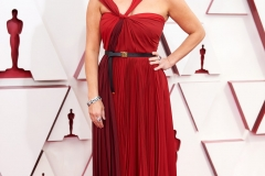 Oscar® presenter Reese Witherspoon arrives on the red carpet of The 93rd Oscars® at Union Station in Los Angeles, CA on Sunday, April 25, 2021.