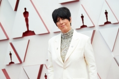 Oscar® nominee Diane Warren arrives on the red carpet of The 93rd Oscars® at Union Station in Los Angeles, CA on Sunday, April 25, 2021.