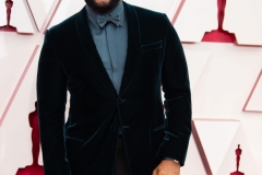 Gene Hersholt Award winner, Tyler Perry arrives on the red carpet of The 93rd Oscars® at Union Station in Los Angeles, CA on Sunday, April 25, 2021.